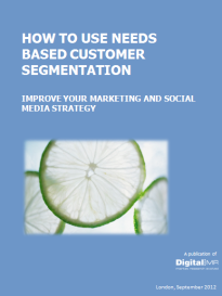 How to use Needs Based Customer Segmentation