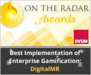 Ovum 'On the Radar' Award for Gamification
