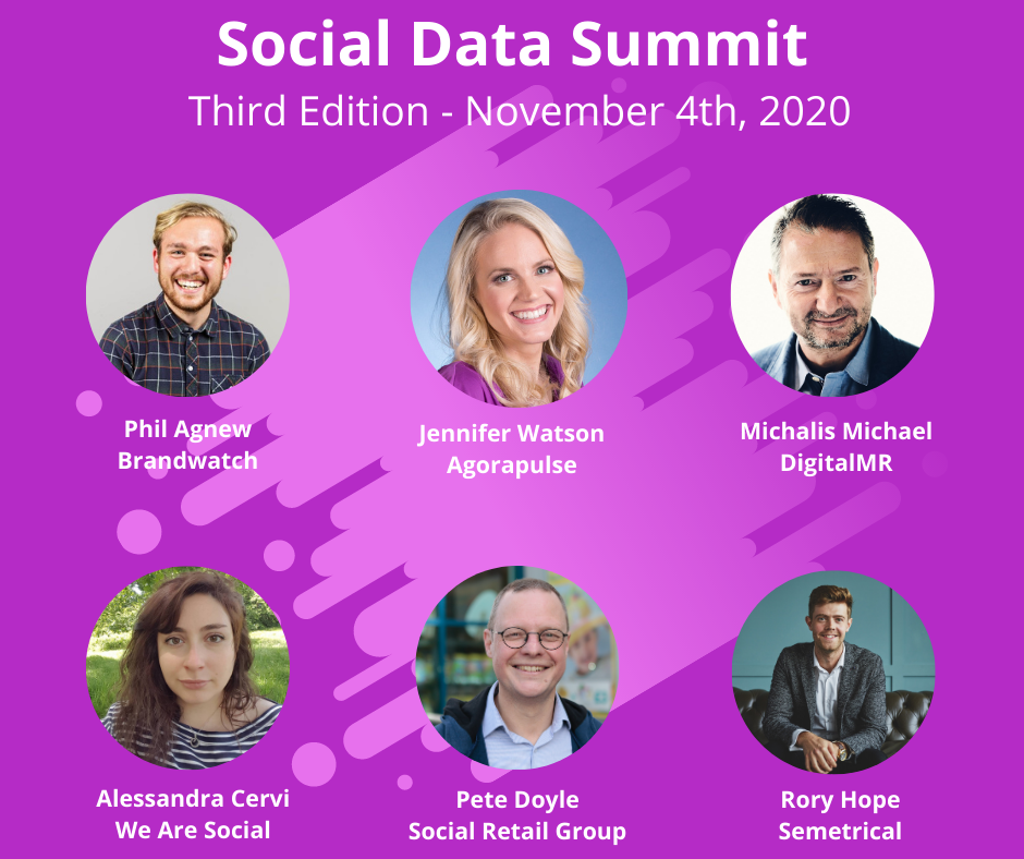 Social Data Summit 3rd edition 2020
