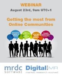 Online Communities Webinar