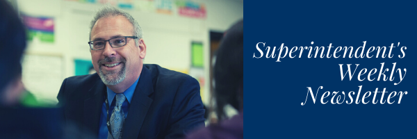 Tony Sanders, superintendent weekly newsletter, 2020-2021, school of thought