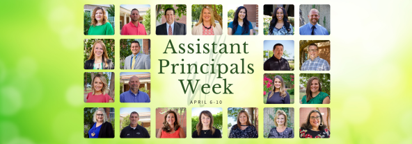 graphic with headshots of WISD assistant principals