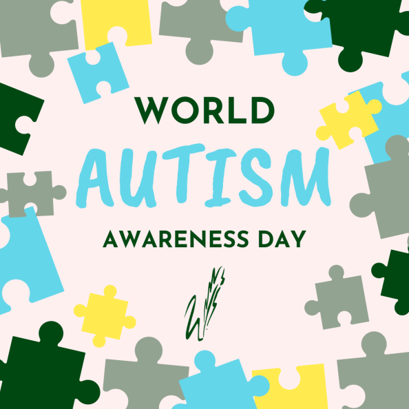 graphic reads Autism Day