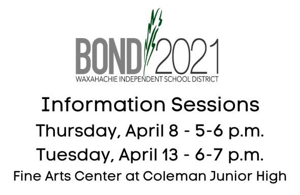 Community Forums Thursday, April 8 - 5-6 p.m. Tuesday, April 13, 6-7 p.m. Fine Arts Center at Coleman.png