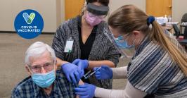 BJC HealthCare administers COVID-19 vaccine